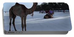 Camel On Beach Kenya Wedding 6 Portable Battery Charger