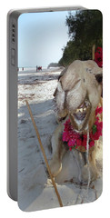 Camel On Beach Kenya Wedding2 Portable Battery Charger