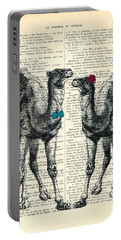 Camels Married Couple Portable Battery Charger
