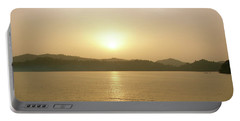 Cameroon Sunrise Africa Portable Battery Charger