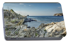Cami De Ronda, Cadaques Catalonia Portable Battery Charger by Marc Garrido