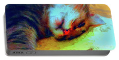 Camilla Cat II Portable Battery Charger by Gerhardt Isringhaus