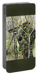 Portable Battery Charger featuring the photograph Camouflage by Ann Horn