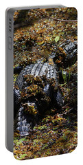 Camouflage Portable Battery Charger by Carol Groenen