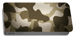 Camouflage Military Interior Background Portable Battery Charger