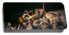 Camouflaged Killer Wasp Portable Battery Charger