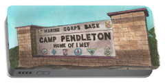 Camp Pendleton Welcome Portable Battery Charger