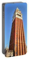 Campanile Di San Marco In Venice Portable Battery Charger