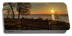 Campus Sunset Portable Battery Charger