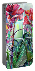 Cana Lily And Daisy Portable Battery Charger