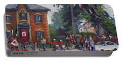 Canada Day Parade At Glen Williams  On Portable Battery Charger