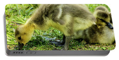 Canada Goose Gosling Portable Battery Charger by Gary Whitton