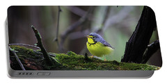 Canada Warbler Portable Battery Charger by Gary Hall