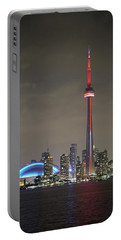 Canadian Landmark Portable Battery Charger by Nick Mares