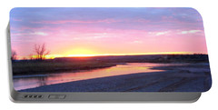 Canadian River Sunset Portable Battery Charger