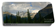 Canadian Rockies, Alta. Portable Battery Charger by Elfriede Fulda