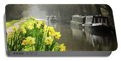 Canalside Daffodils Portable Battery Charger