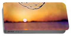 Cancun Sunset On The Lake Portable Battery Charger