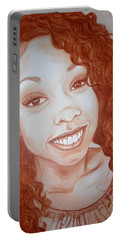 Candace Portable Battery Charger by Jenny Pickens