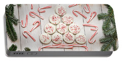 Portable Battery Charger featuring the photograph Candy Cane Lane by Kim Hojnacki