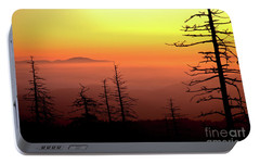 Portable Battery Charger featuring the photograph Candy Corn Sunrise by Douglas Stucky