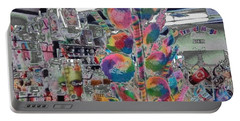 Candy Store Portable Battery Charger by Kathie Chicoine