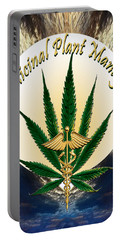 Cannabis Medicinal Plant Portable Battery Charger