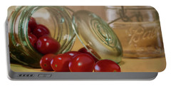 Canned Tomatoes - Kitchen Art Portable Battery Charger
