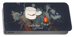 Cannibalism Is Sweet Illustrated Portable Battery Charger by Heather Applegate
