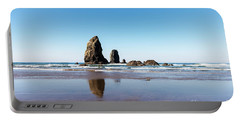 Portable Battery Charger featuring the photograph Cannon Beach by Anthony Baatz