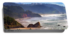 Cannon Beach Coast Oregon Portable Battery Charger