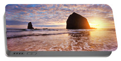Cannon Beach Sunset Classic Portable Battery Charger