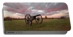 Cannons At Sunrise Portable Battery Charger