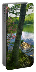 Canoe On Pond, Catskills Portable Battery Charger