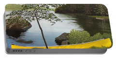 Canoe On The Bay Portable Battery Charger