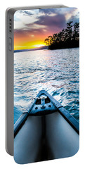 Canoeing In Paradise Portable Battery Charger