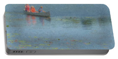 Canoes On Shovelshop Pond Portable Battery Charger