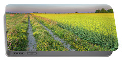 Canola Fields Portable Battery Charger