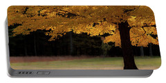 Canopy Of Autumn Gold Portable Battery Charger