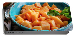 Cantaloupe For Breakfast Portable Battery Charger