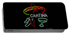 Cantina Neon Sign Portable Battery Charger
