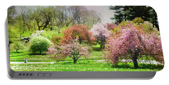 Portable Battery Charger featuring the photograph Garden Canvas  by Diana Angstadt