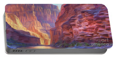 Canyon Light Portable Battery Charger by Walter Colvin