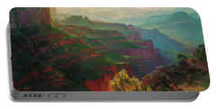 Canyon Silhouettes Portable Battery Charger