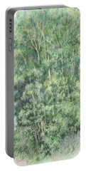 Canyon Trees Colorized Portable Battery Charger