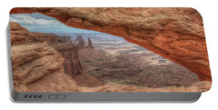Canyonlands From Mesa Arch Portable Battery Charger