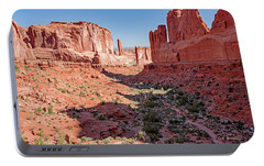Portable Battery Charger featuring the photograph Arches National Park, Moab, Utah by A Gurmankin