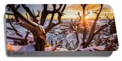 Canyonlands Winter Sunset Portable Battery Charger