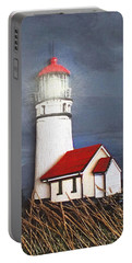 Cape Blanco Glow Portable Battery Charger by Wendy McKennon