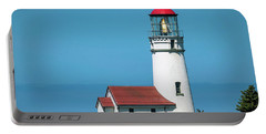 Portable Battery Charger featuring the photograph Cape Blanco Lighthouse At Cape Blanco, Oregon by John Hight